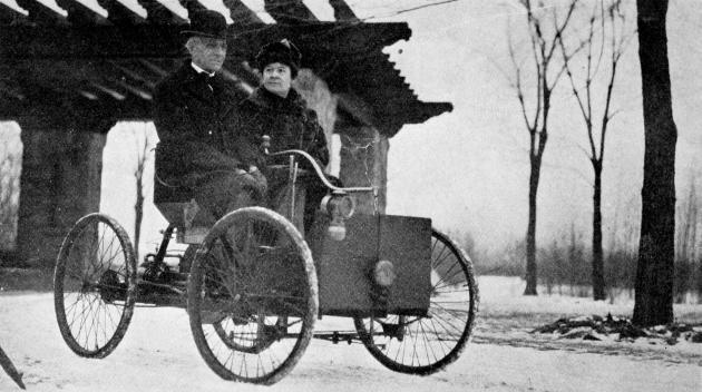 Henry Ford s manželkou