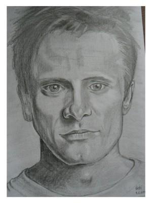 výstupní portrét