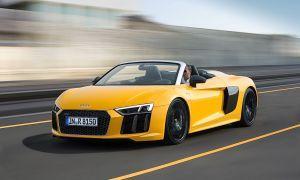 Audi R8 Spyder: Příprava na léto hotova