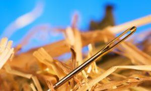 3 možnosti, jak najít jehlu v kupce sena