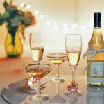 šampaňské sklenice