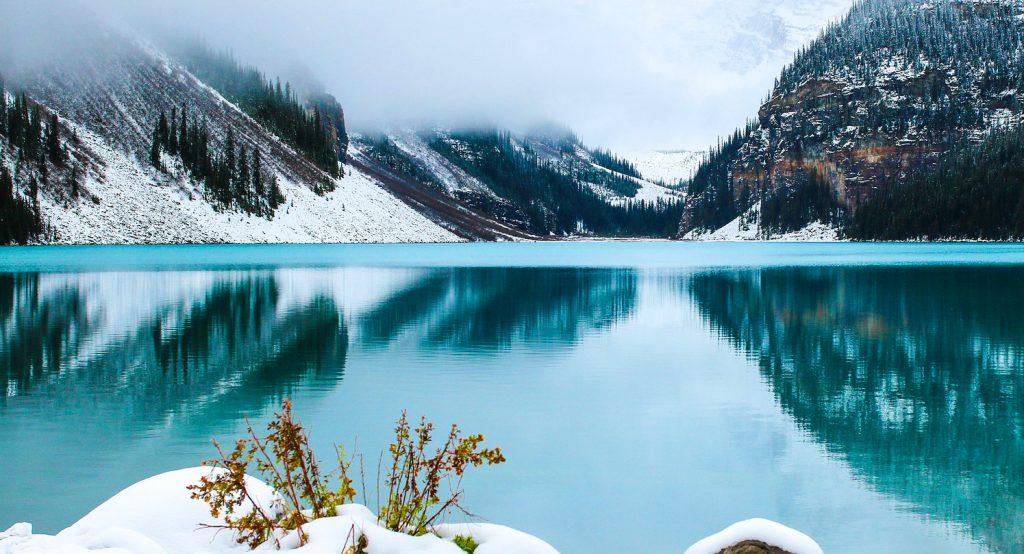 hory, jezero, pohoda