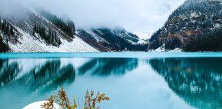 hory, jezero
